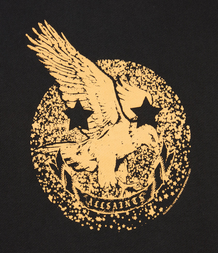 Herren Acid Eagle Oth Hoodie (jet_black) - Image 7