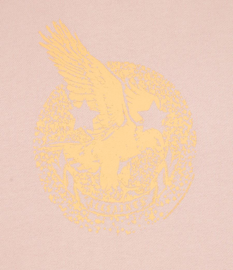 Men's Acid Eagle Pullover Hoodie (balsastone_pink) - Image 7