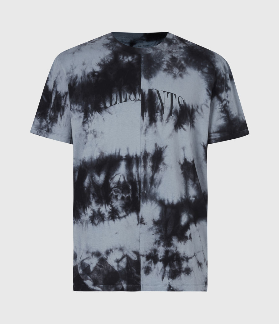 Herren Dropout Batik T-Shirt (washed_black) - Image 2