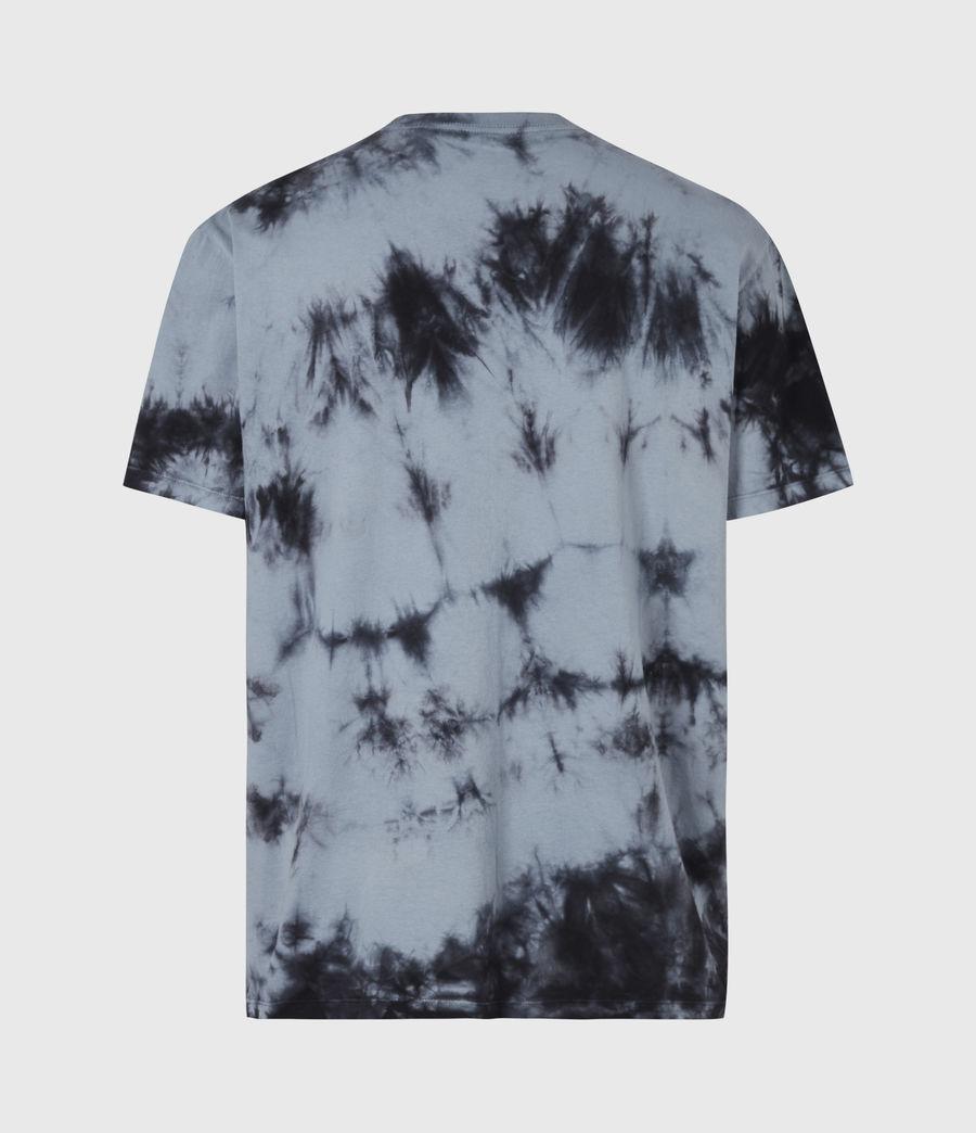 Herren Dropout Batik T-Shirt (washed_black) - Image 3