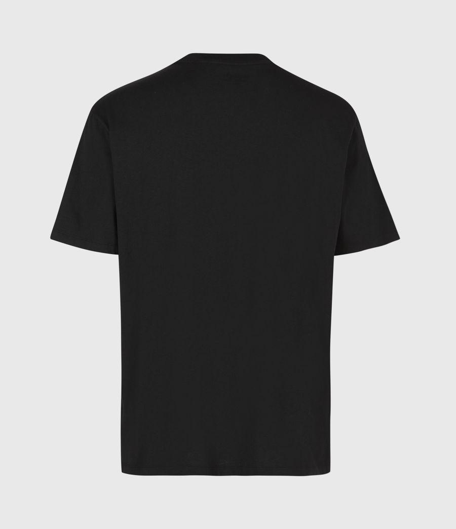 Mens Opposition Crew T-Shirt (jet_black) - Image 3
