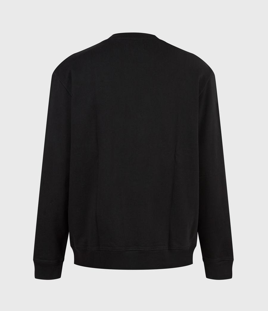 Men's Vincente Crew Sweatshirt (jet_rose_ash_pink) - Image 3