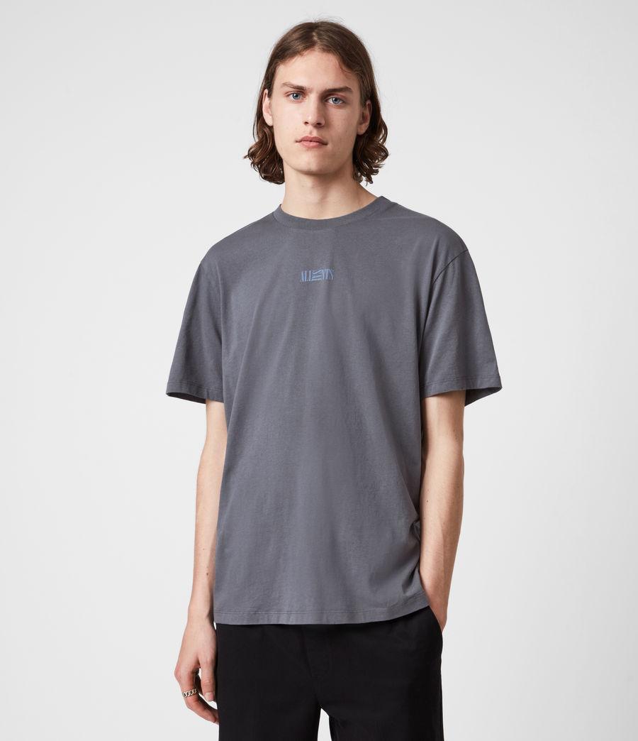 Herren Opposition T-Shirt (granite_blue) - Image 1