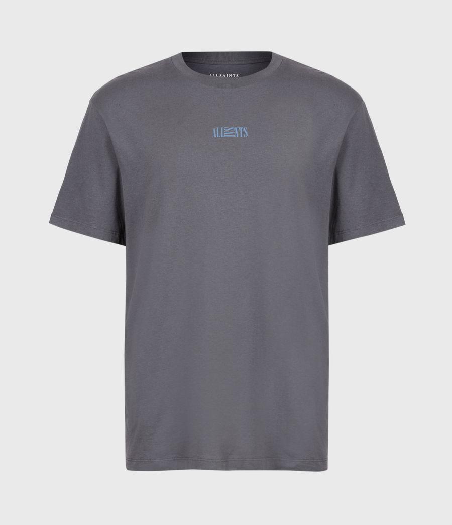 Herren Opposition T-Shirt (granite_blue) - Image 2