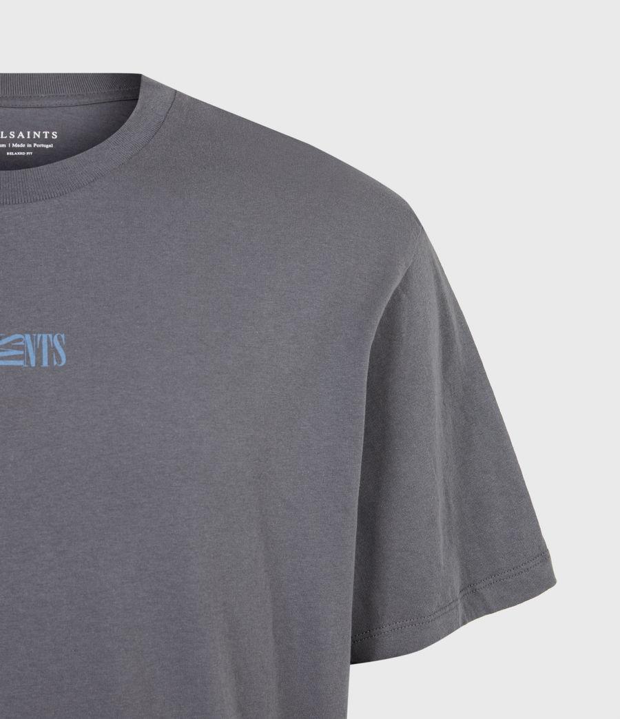Herren Opposition T-Shirt (granite_blue) - Image 5