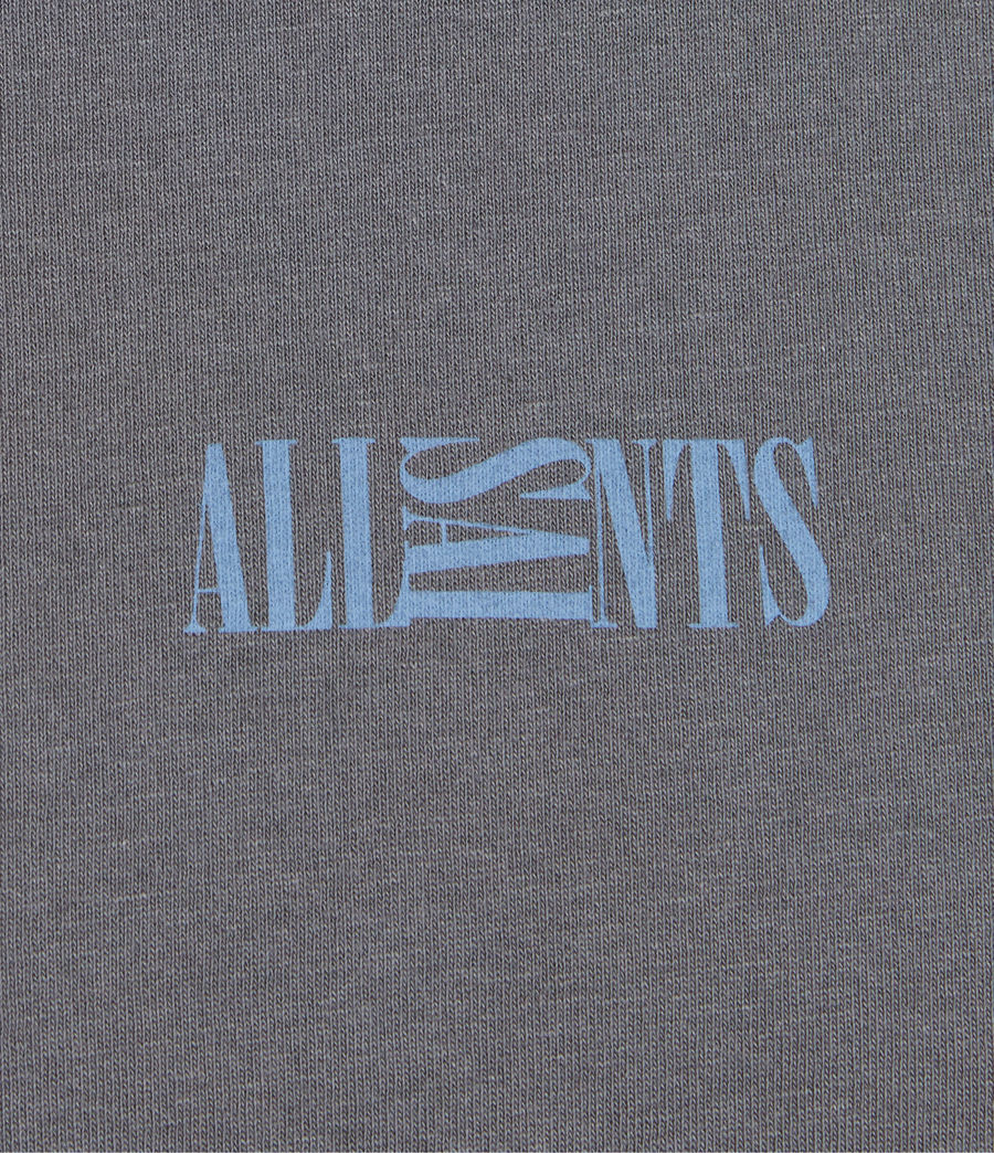 Herren Opposition T-Shirt (granite_blue) - Image 6