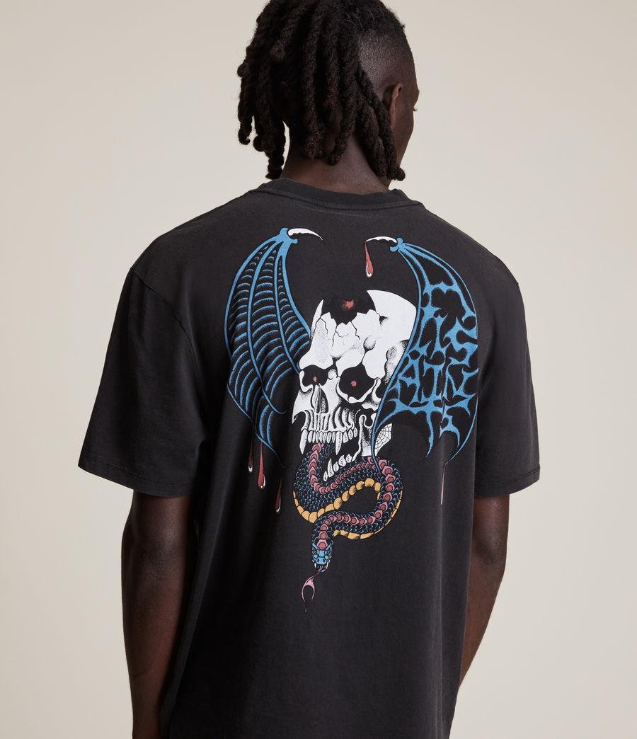 Men's Wraith Crew T-Shirt (jet_black) - Image 1