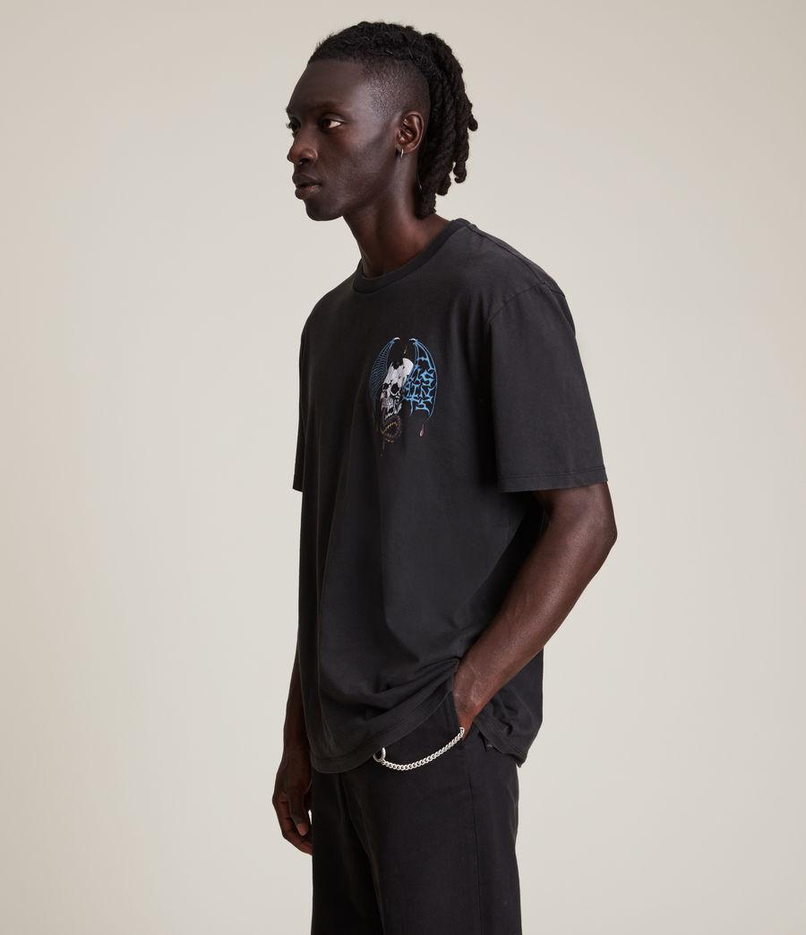 Men's Wraith Crew T-Shirt (jet_black) - Image 3