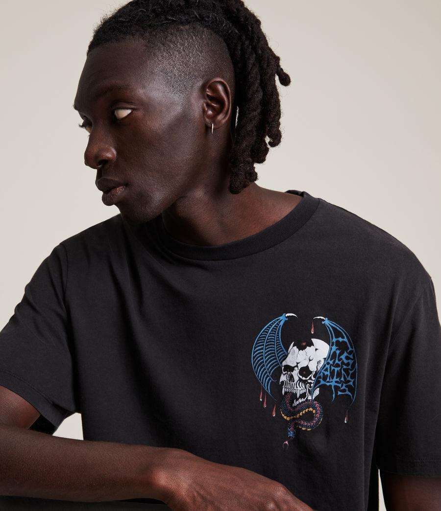 Men's Wraith Crew T-Shirt (jet_black) - Image 7