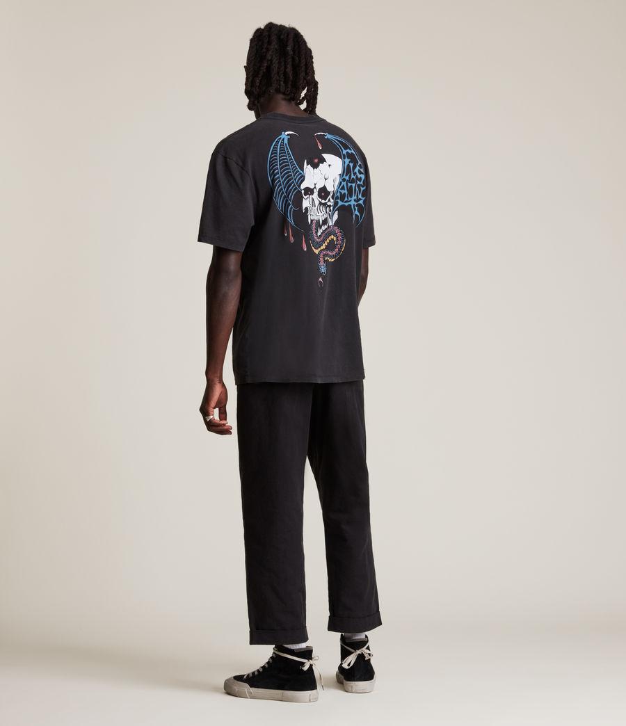 Men's Wraith Crew T-Shirt (jet_black) - Image 9