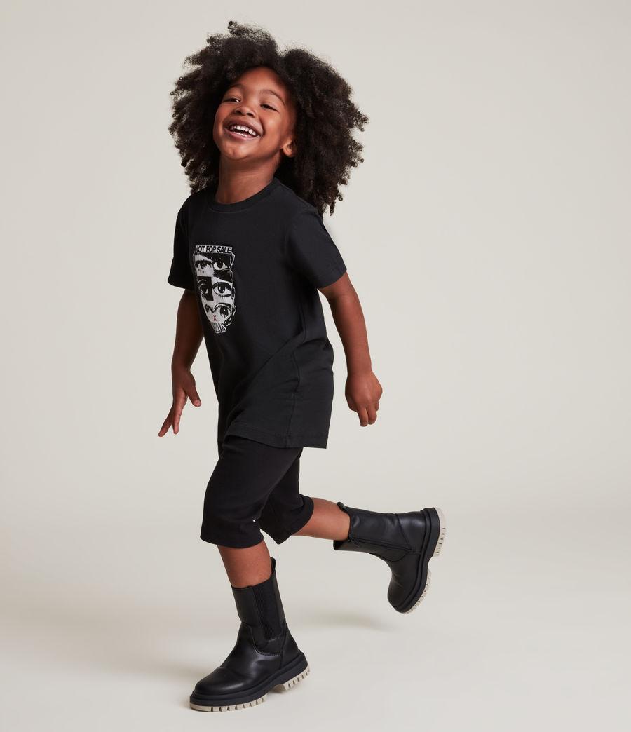 Men's Kids Not For Sale Optix Unisex Crew T-Shirt (jet_black) - Image 10