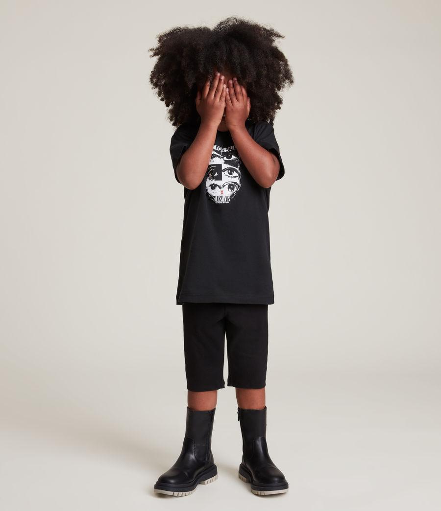 Men's Kids Not For Sale Optix Unisex Crew T-Shirt (jet_black) - Image 11