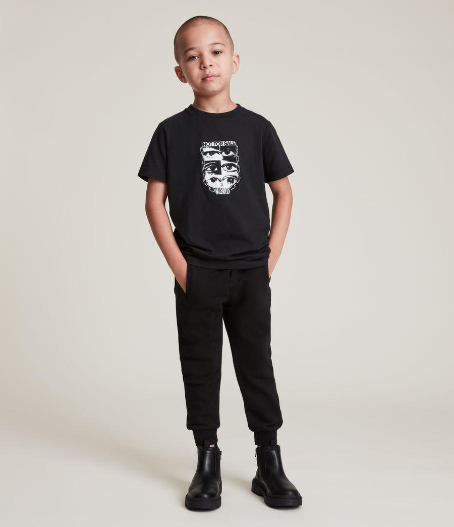 Men's Kids Not For Sale Optix Unisex Crew T-Shirt (jet_black) - Image 5