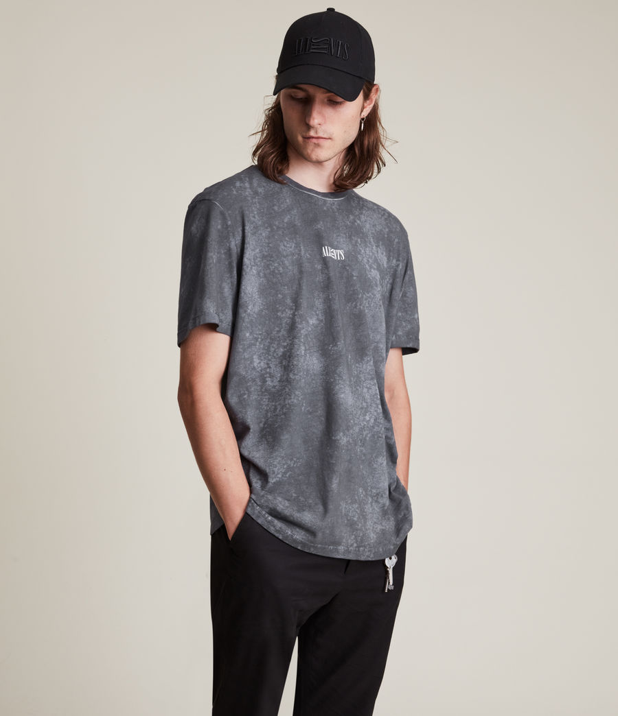 Men's Opposition Wyatt T-Shirt (washed_blue) - Image 1