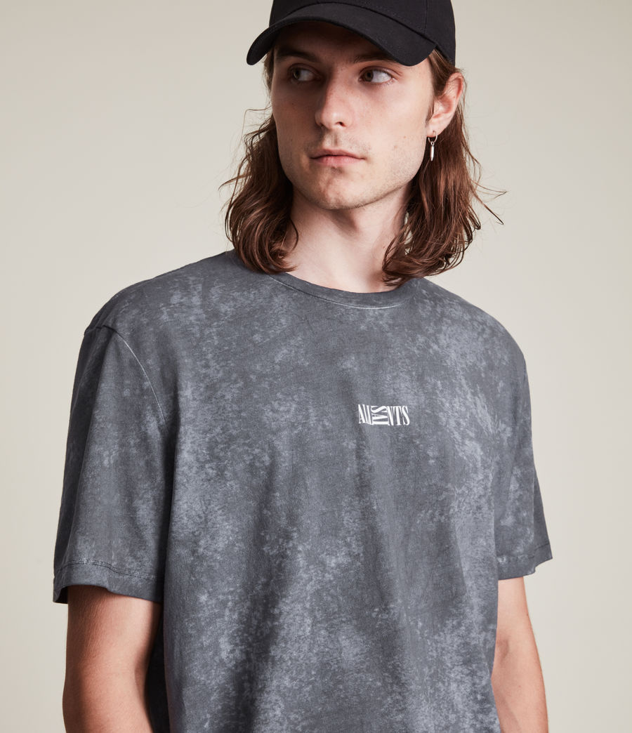 Men's Opposition Wyatt T-Shirt (washed_blue) - Image 2
