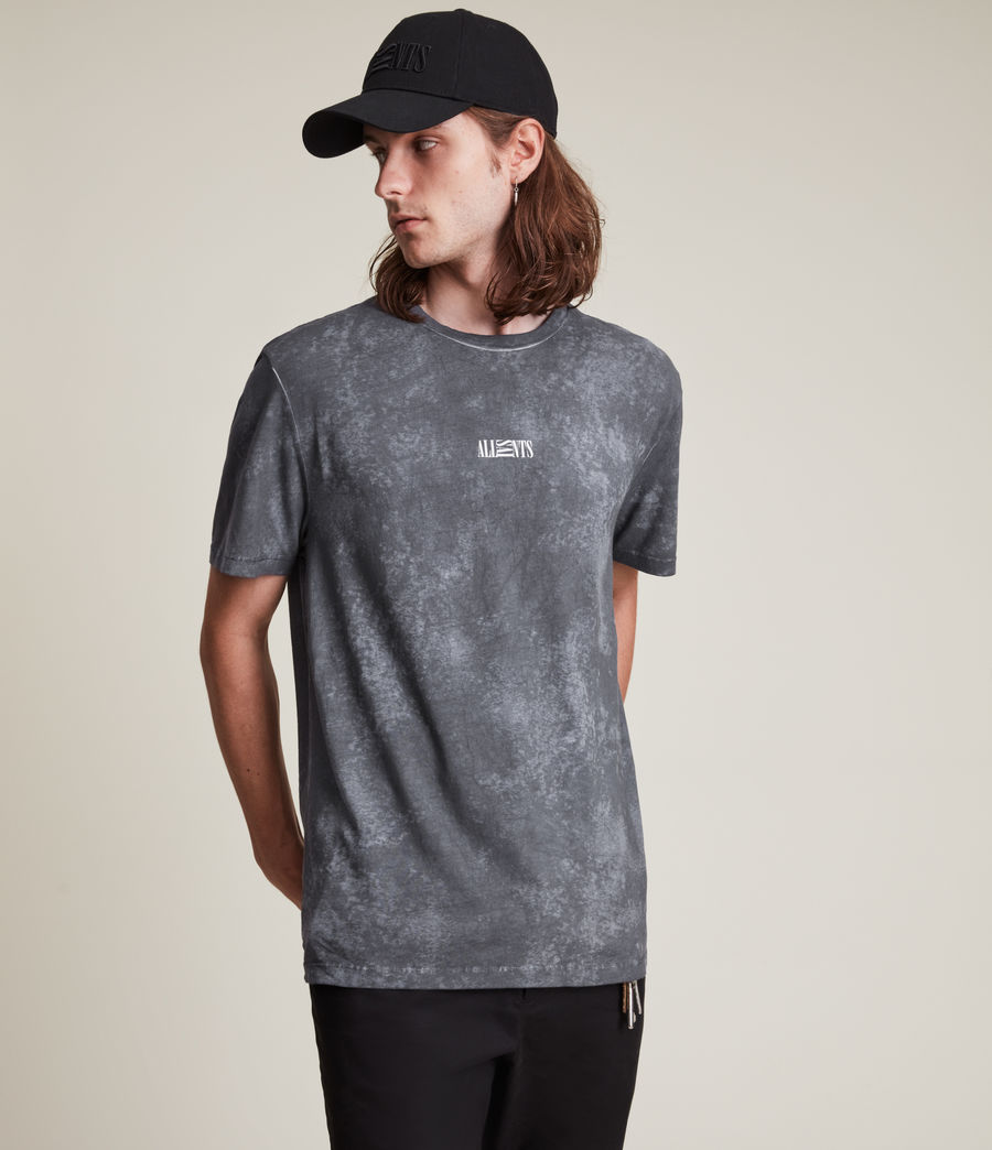 Men's Opposition Wyatt T-Shirt (washed_blue) - Image 4