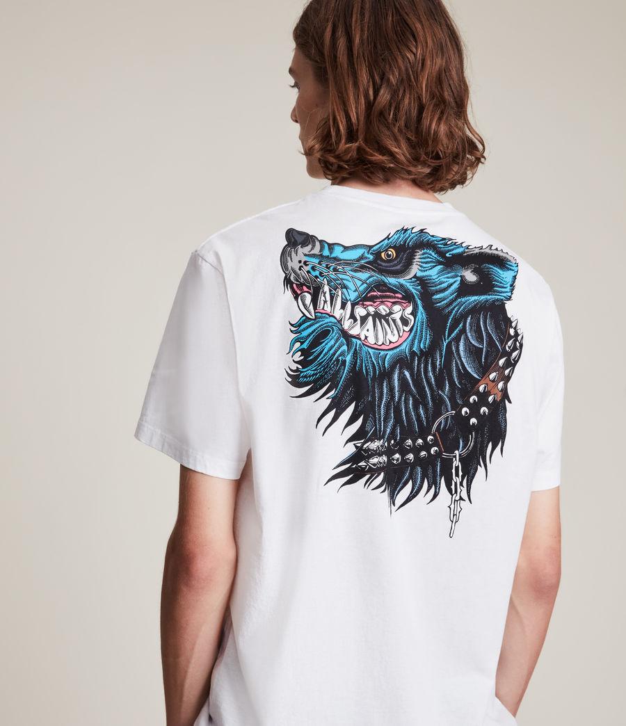 Herren Gnasher T-Shirt (optic_white) - Image 1