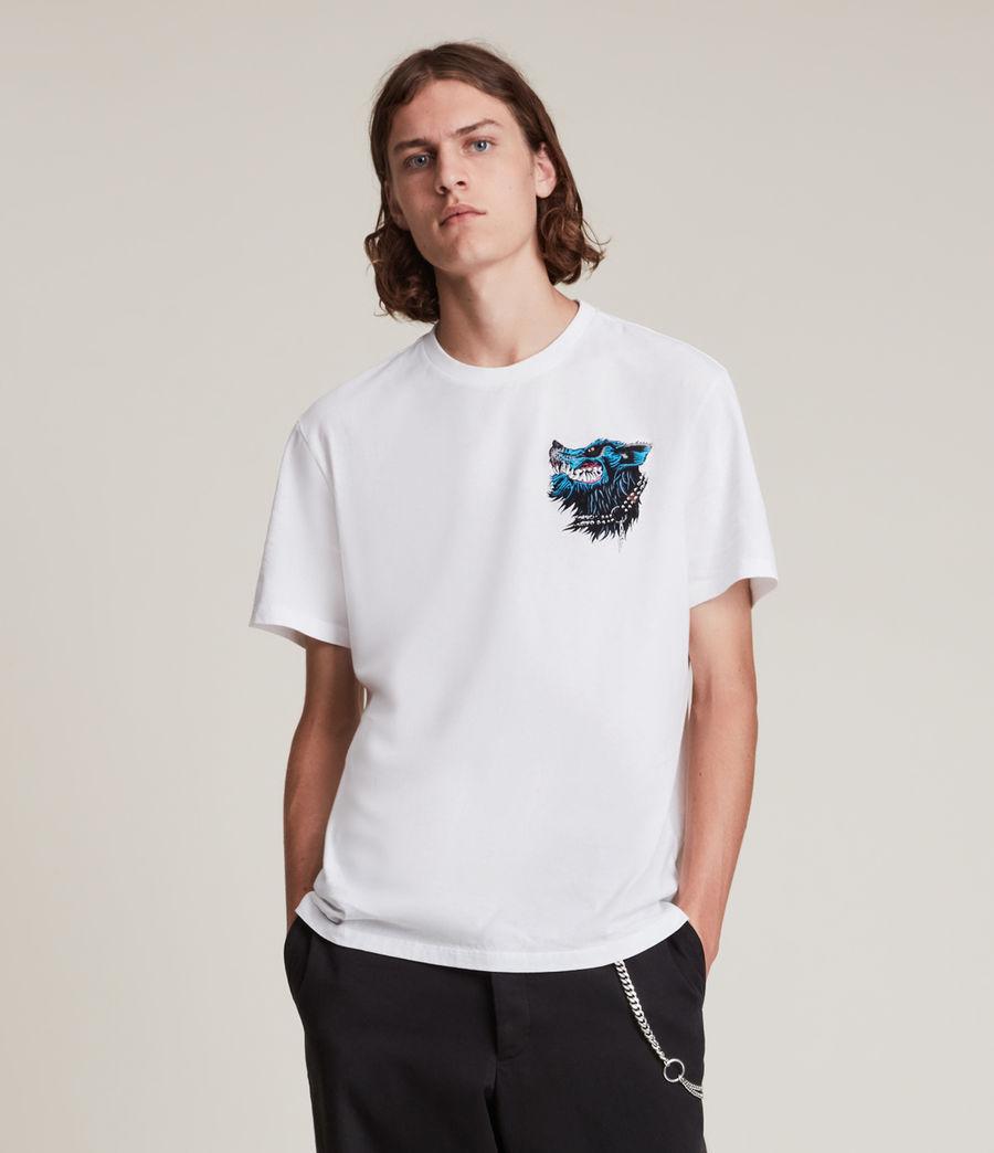 Herren Gnasher T-Shirt (optic_white) - Image 2