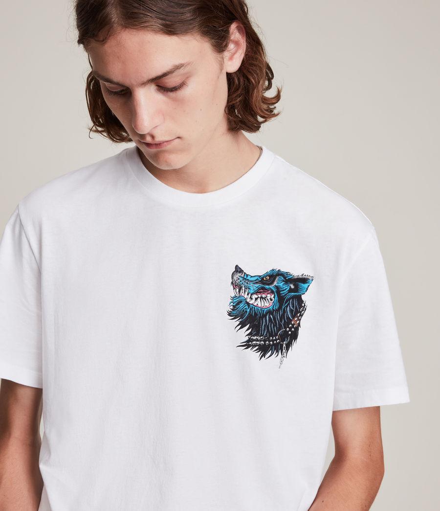 Herren Gnasher T-Shirt (optic_white) - Image 3