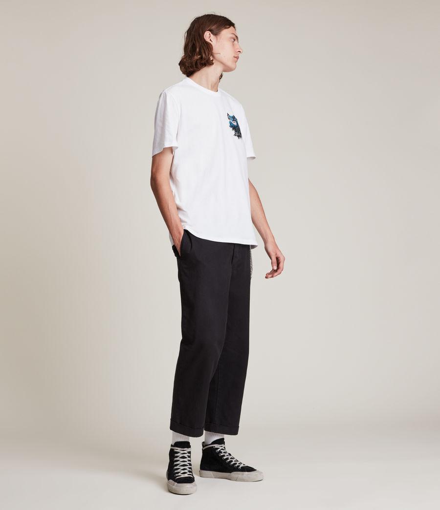 Herren Gnasher T-Shirt (optic_white) - Image 4
