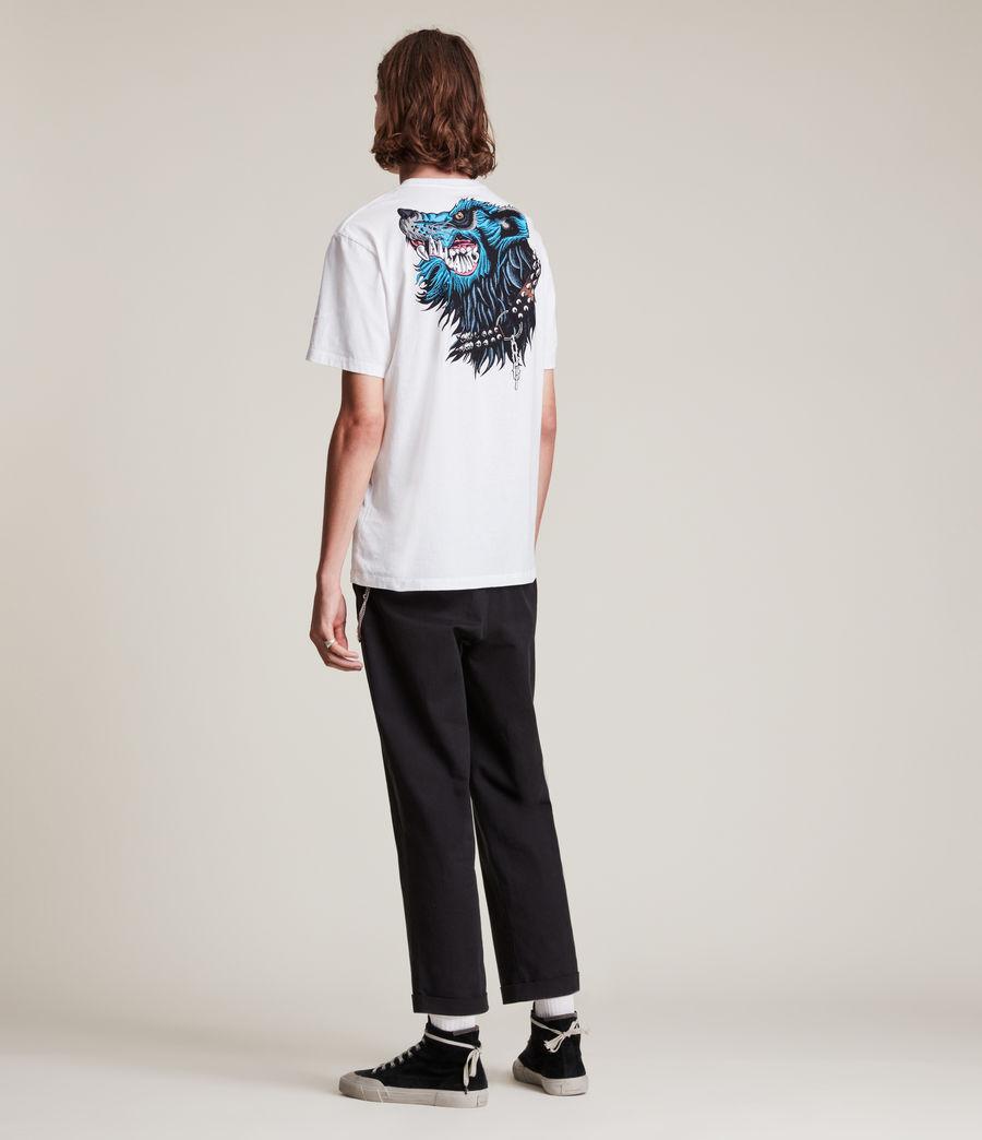 Herren Gnasher T-Shirt (optic_white) - Image 5