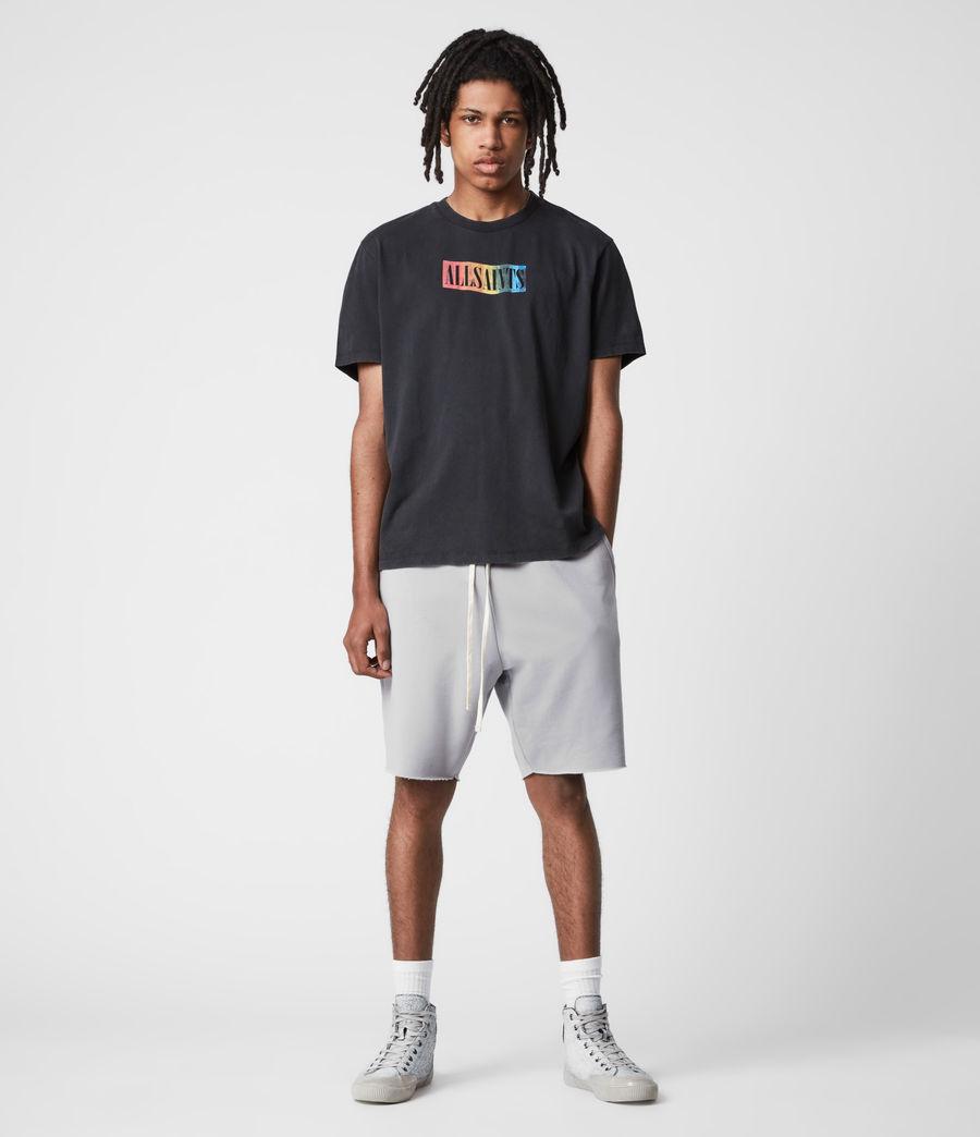 Mens Pride Crew T-Shirt (jet_black) - Image 7
