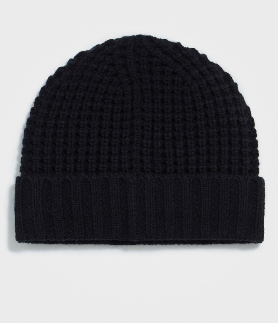 Hombres Thermal Stitch Beanie (ink_navy) - Image 3