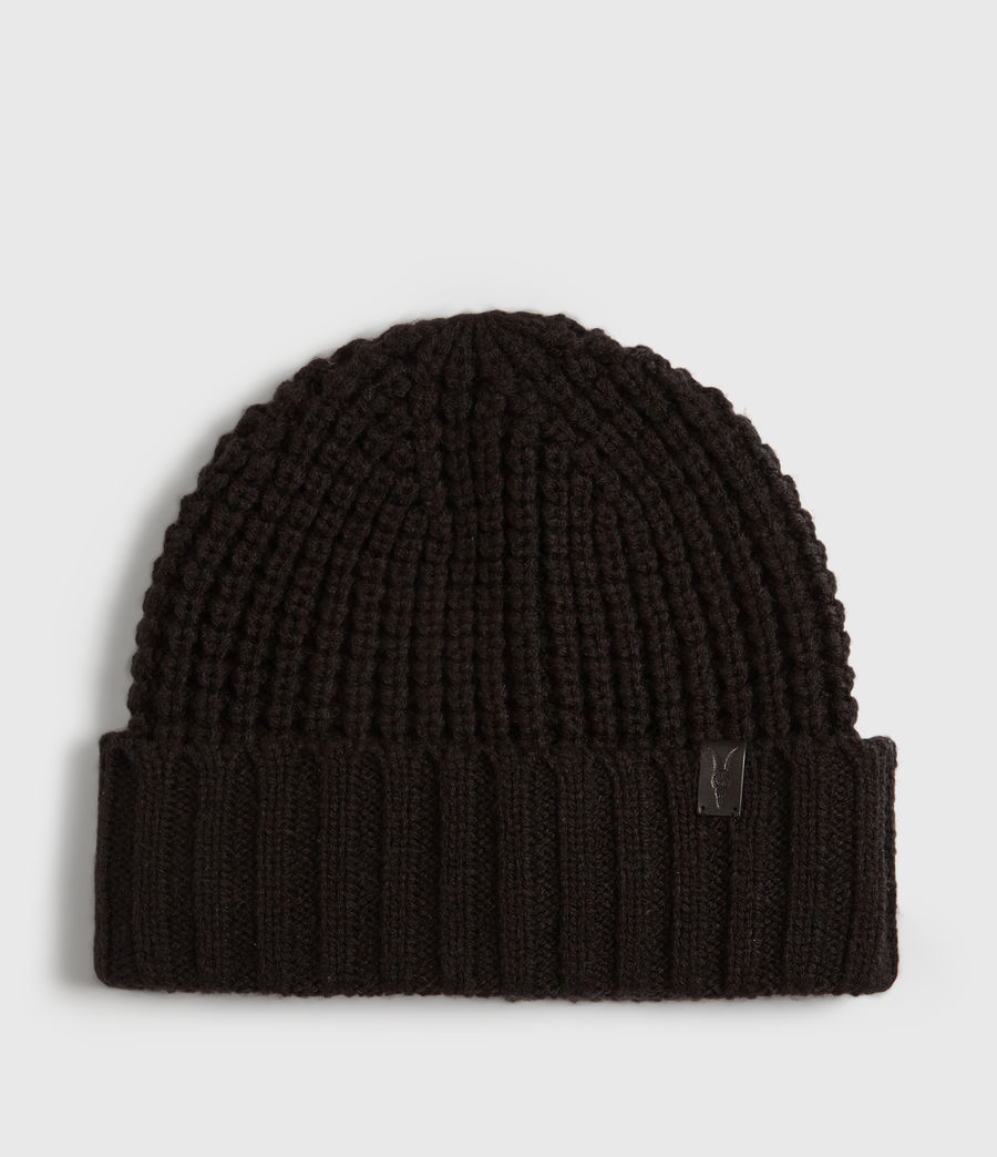 Mens Thermal Beanie (black) - Image 1