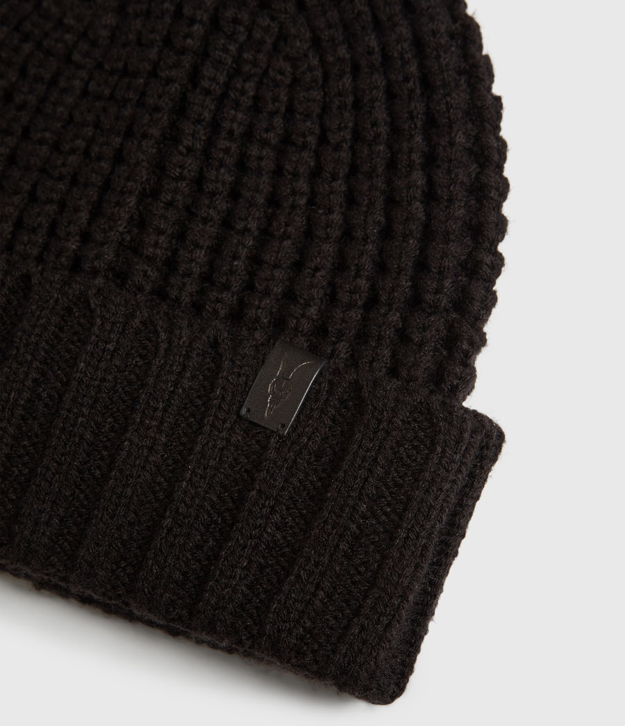 Mens Thermal Beanie (black) - Image 3