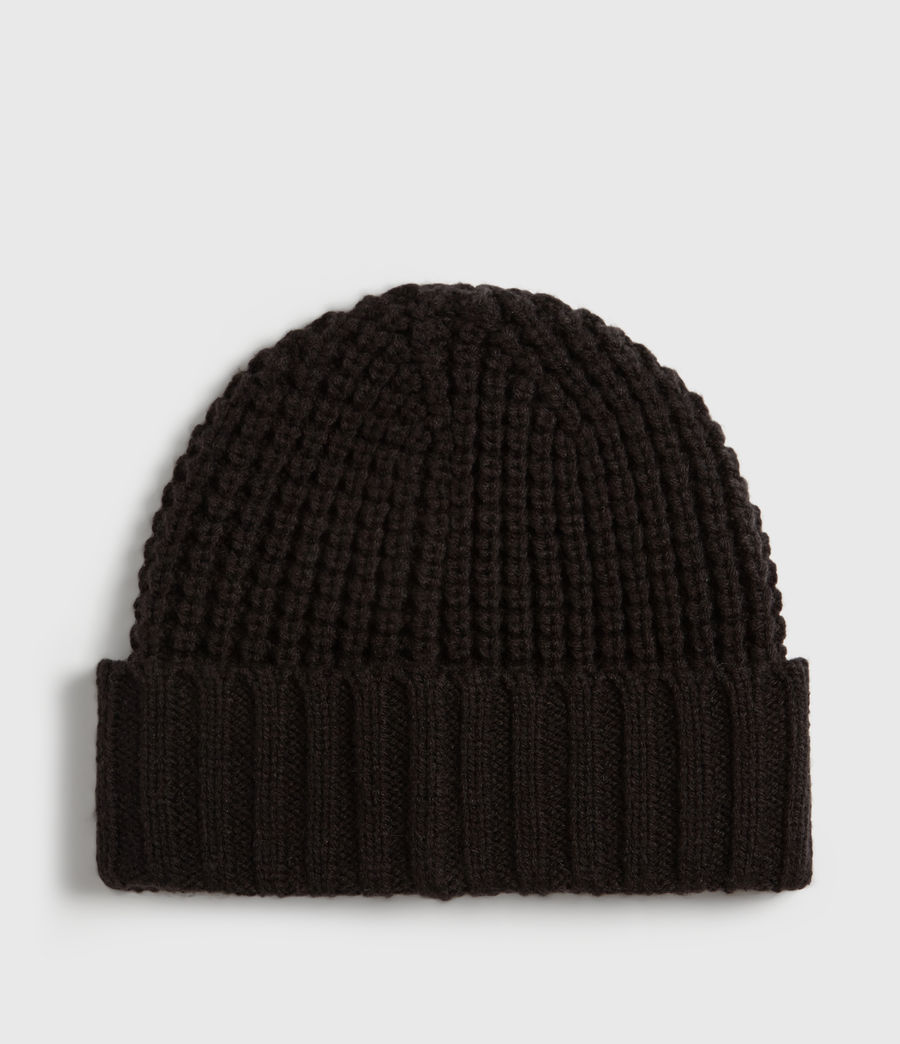 Mens Thermal Beanie (black) - Image 4