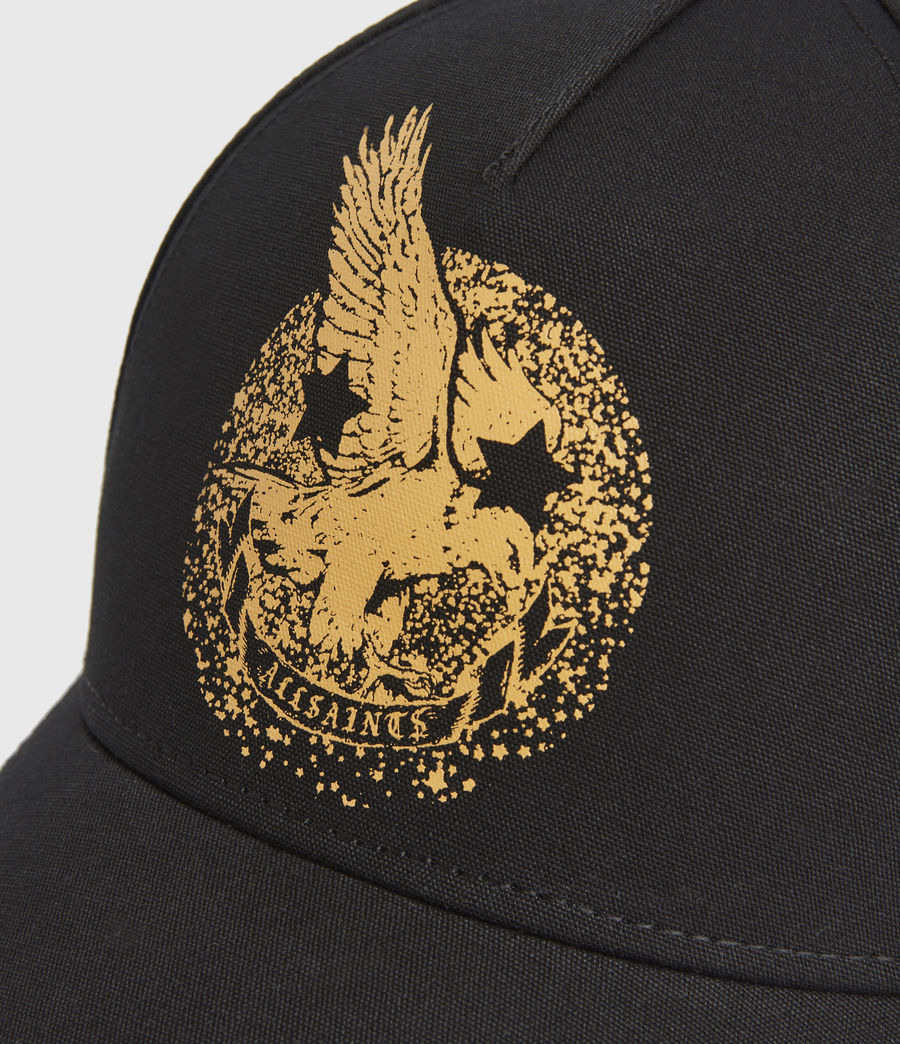 Men's Acid Eagle Cap (black) - Image 3