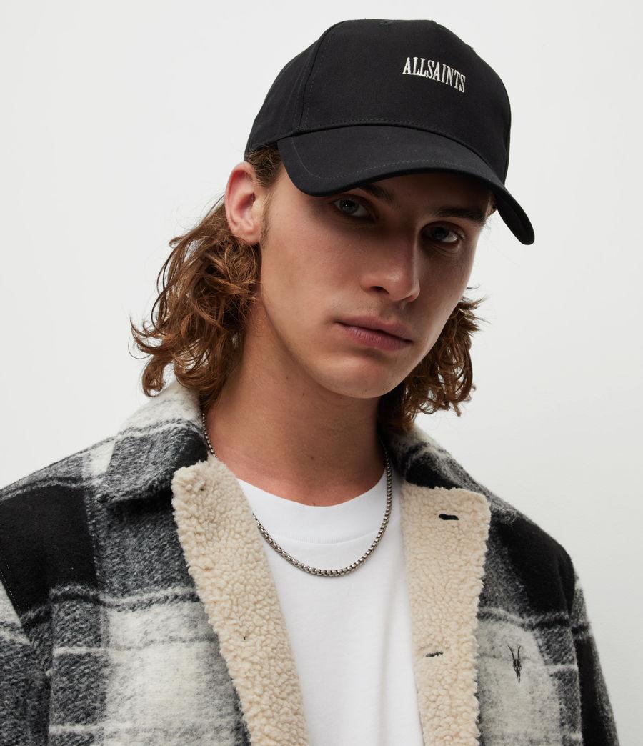 Men's Axl Baseball Cap (black_white) - Image 2