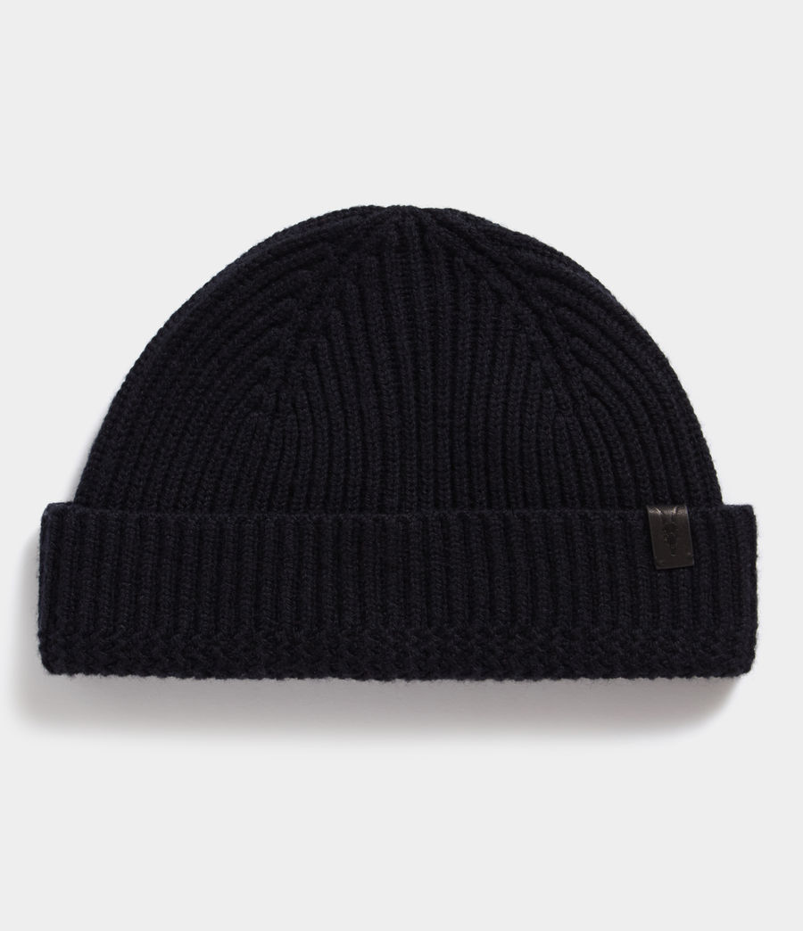Men's Merino Beanie (ink_navy) - Image 1