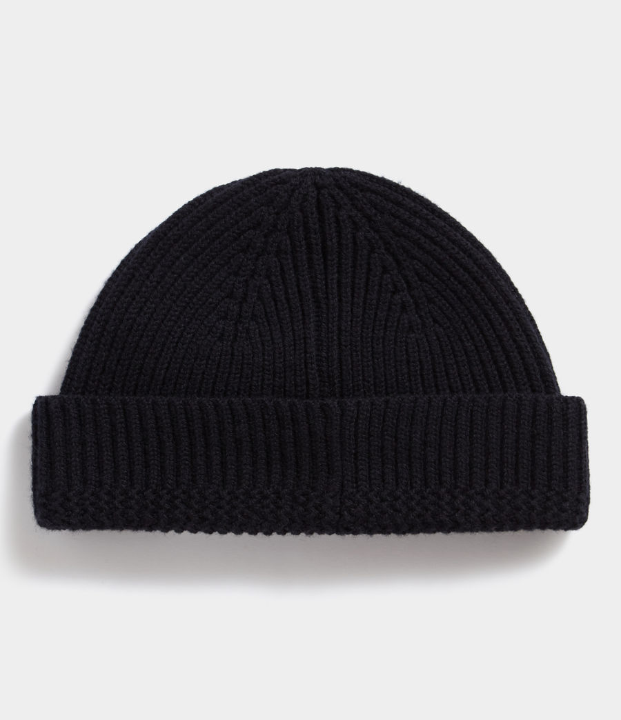Men's Merino Beanie (ink_navy) - Image 3