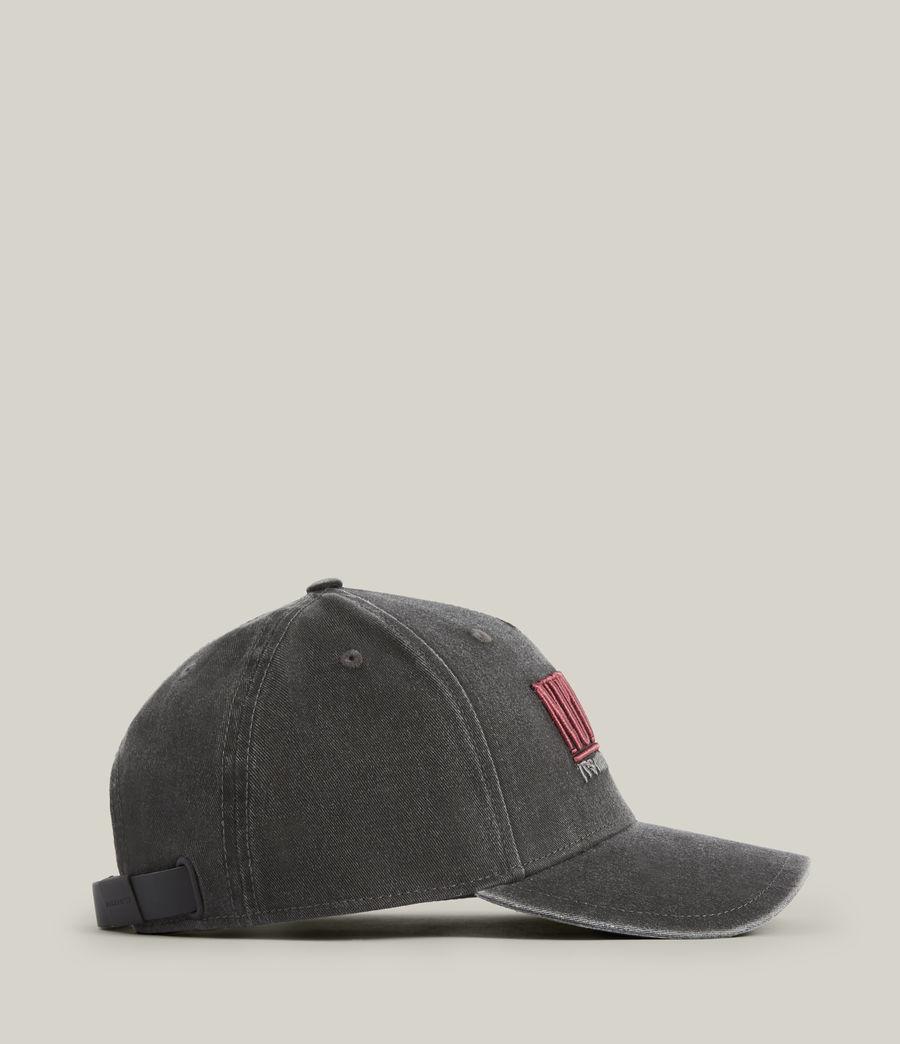 Men's Noah Baseball Cap (washed_grey_black) - Image 4