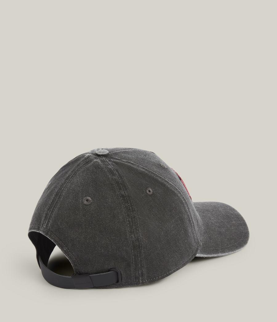Men's Noah Baseball Cap (washed_grey_black) - Image 5