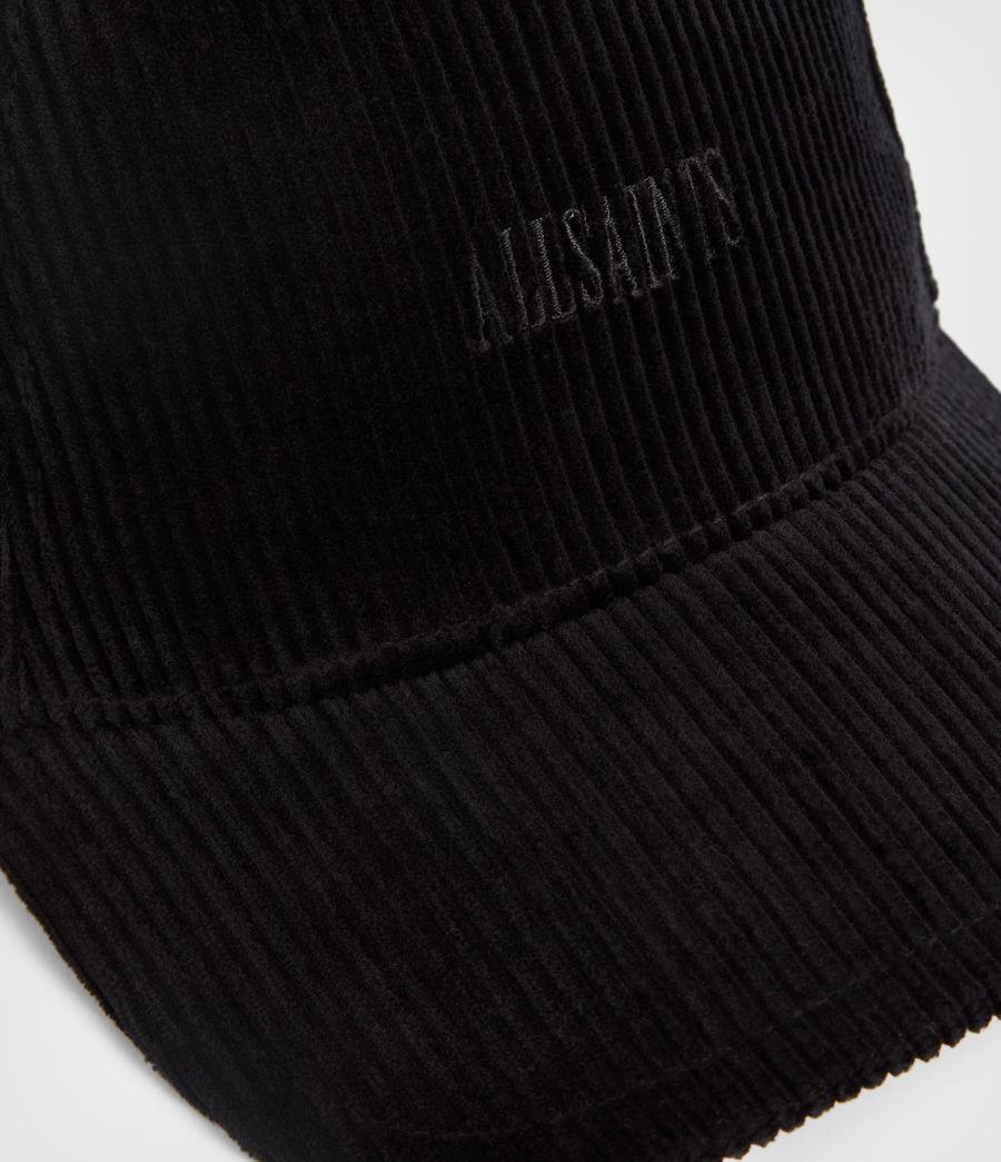 Men's Ethan Baseball Cap (black) - Image 3