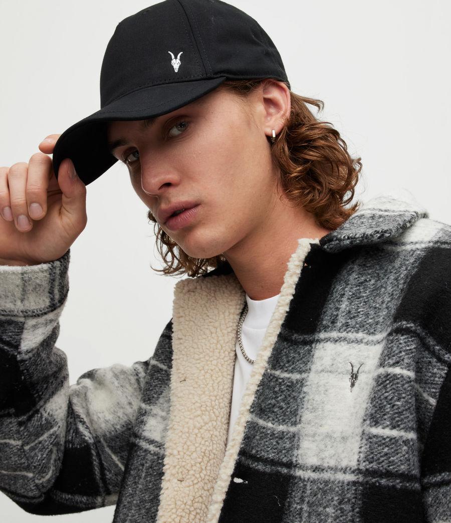 Men's Fen Baseball Cap (black_matte_black) - Image 2