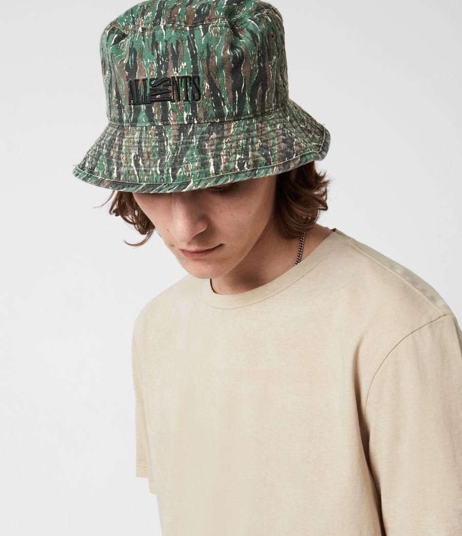 Hommes Camo Bucket Hat (khaki) - Image 4