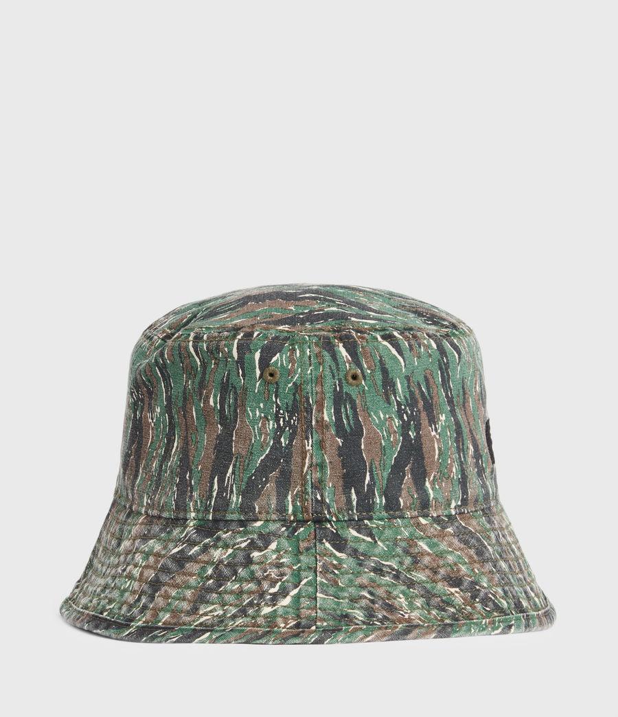 Hommes Camo Bucket Hat (khaki) - Image 5