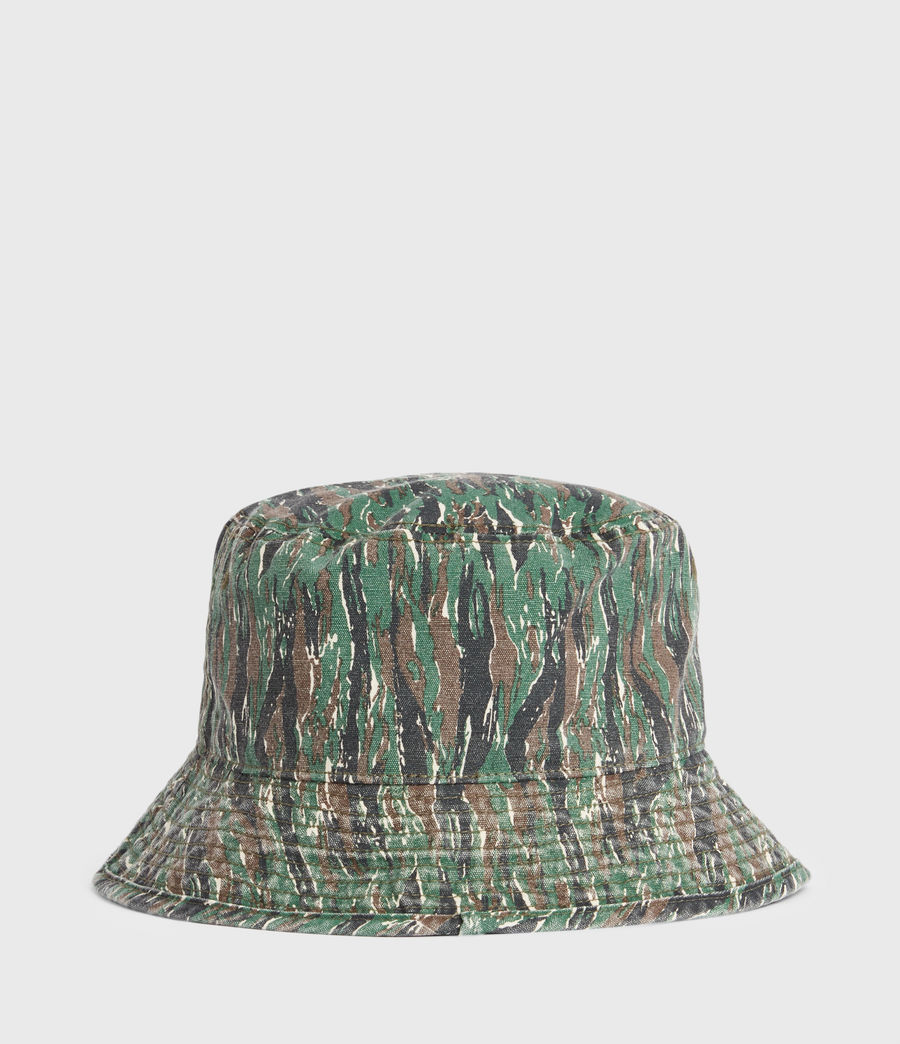 Hommes Camo Bucket Hat (khaki) - Image 6