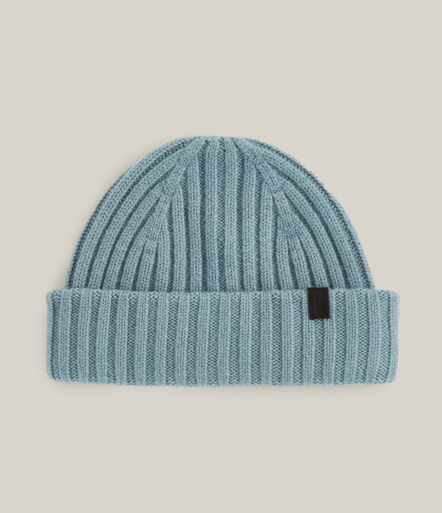 Men's Lonnie Wool Beanie (dusted_blue) - Image 1