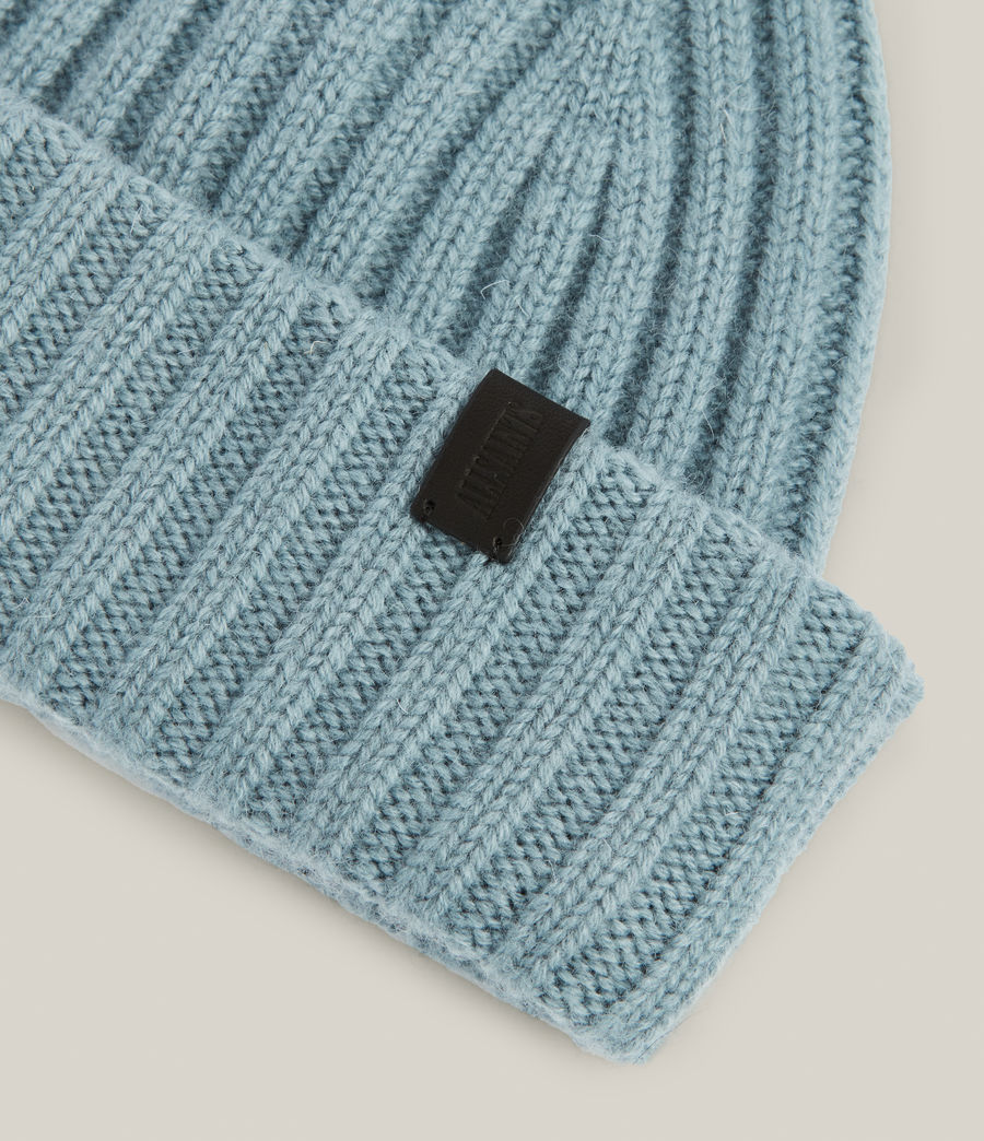 Men's Lonnie Wool Beanie (dusted_blue) - Image 3