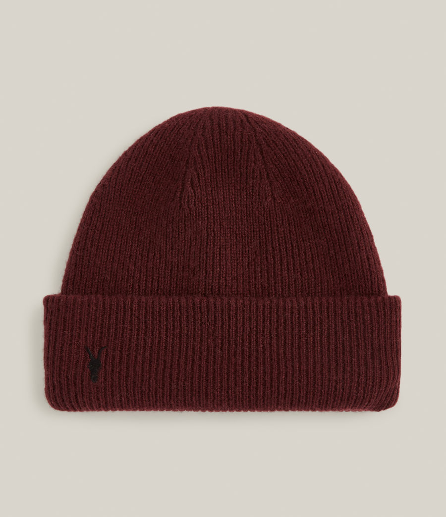 Men's Bailey Wool Beanie (charred_red) - Image 2