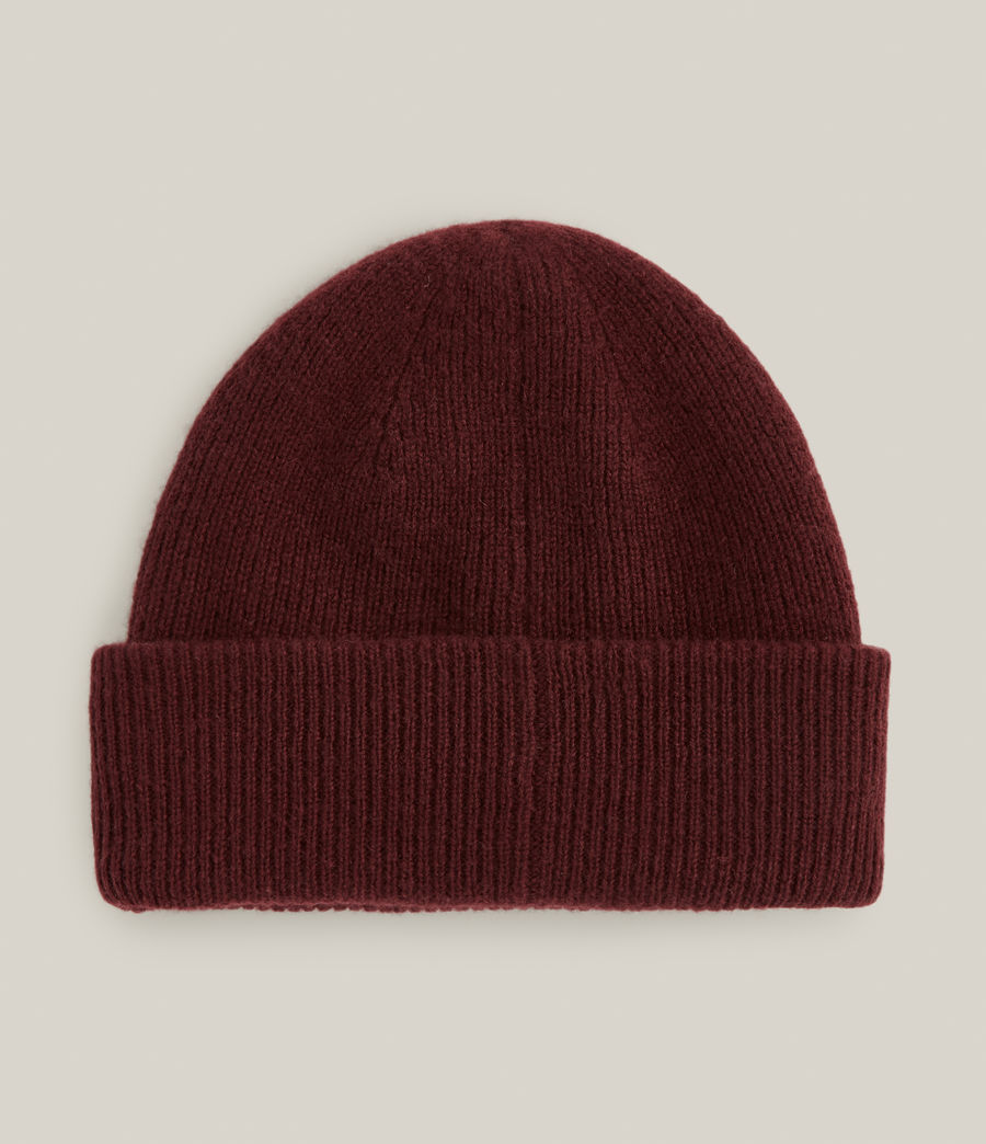 Men's Bailey Wool Beanie (charred_red) - Image 4