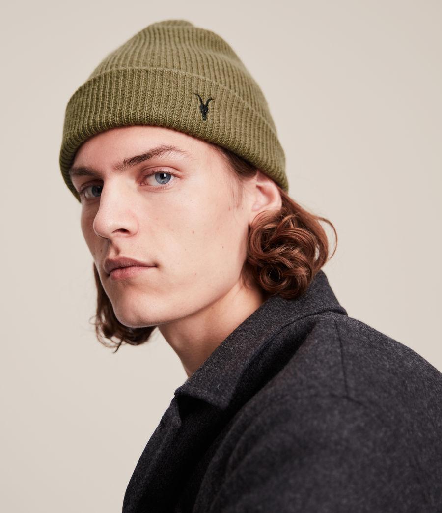 Men's Bailey Wool Beanie (dusty_olive_green) - Image 2
