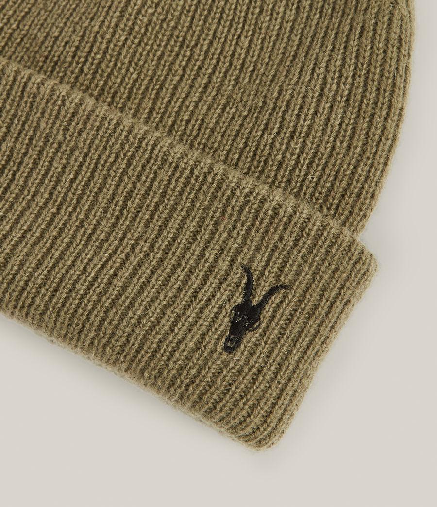 Men's Bailey Wool Beanie (dusty_olive_green) - Image 3