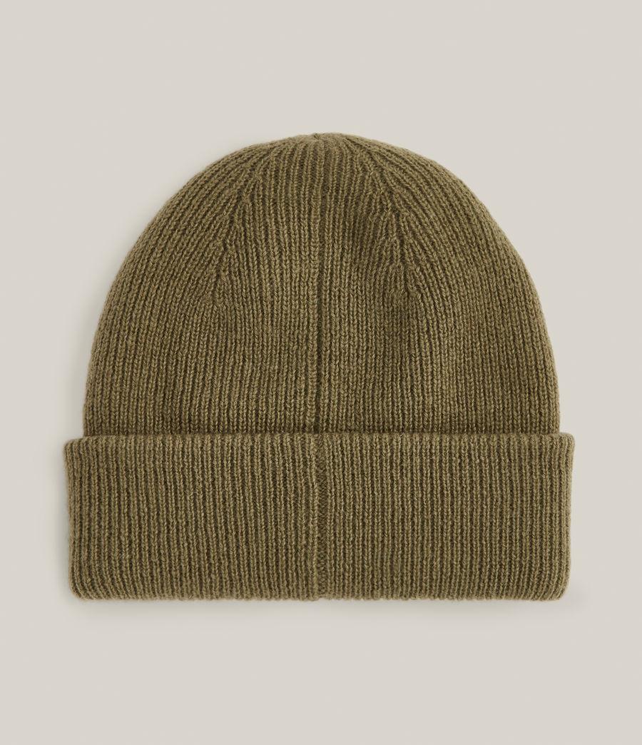 Men's Bailey Wool Beanie (dusty_olive_green) - Image 4