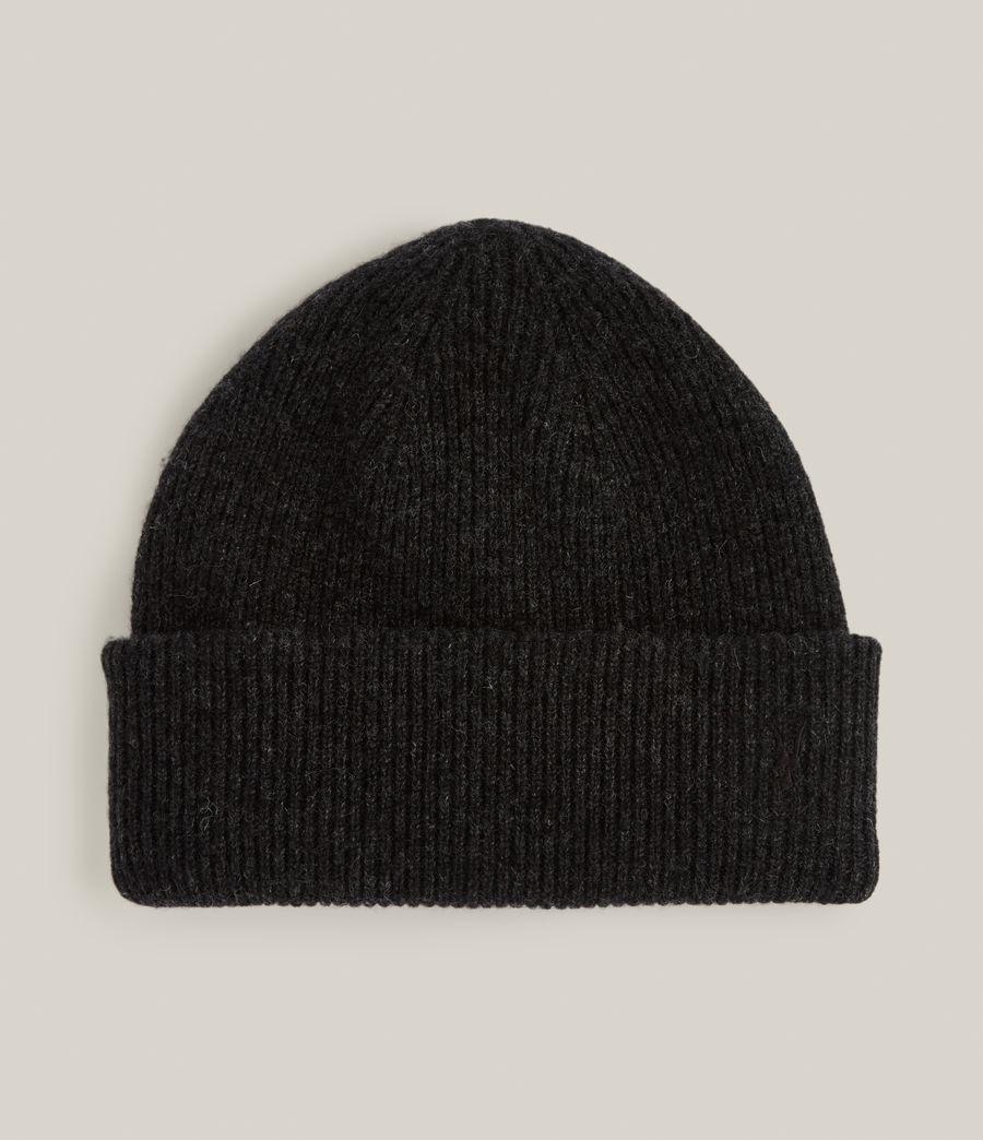 Men's Bailey Wool Beanie (cinder_black_marl) - Image 1