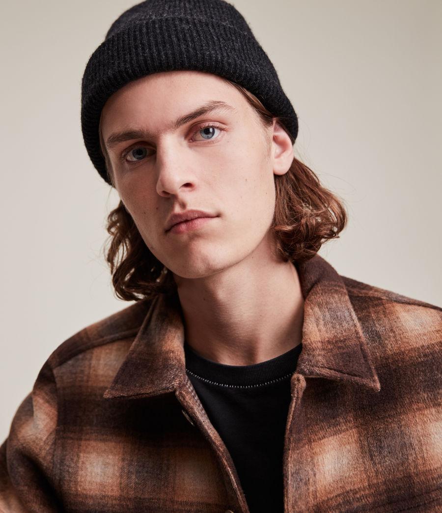 Men's Bailey Wool Beanie (cinder_black_marl) - Image 2